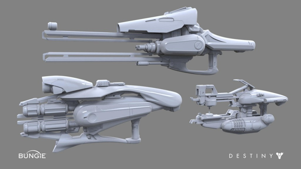 34-1024x576 Senior art team publish series of galleries of weapons from Destiny